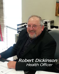bob Dickinson, Health Officer